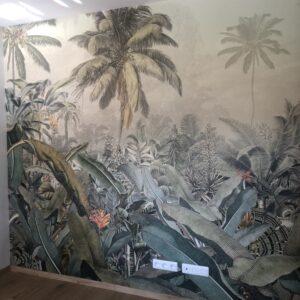 Un papier peint panoramique jungle